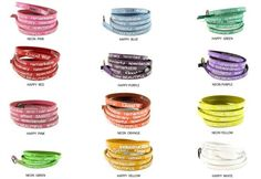 "I AM Good Works Bracelets feature metallic messages such as ""I am beautiful, amazing, talented...""  All the things you are."