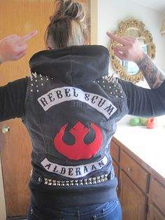 When I join a motorcycle gang. (Sorry for the hand signals but the jacket rocks!)