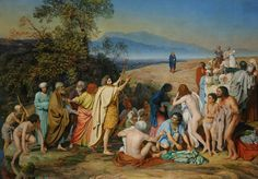 Alexander Andreyevich Ivanov -  The Appearance of Christ Before the People (1837–57)