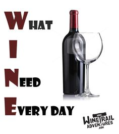 Wine.... it has more than one meaning