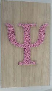 Blog do Artesanato: String art - símbolo da psicologia