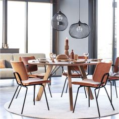 Bodilson Indy hanglamp   Zen Lifestyle   Gratis Bezorging! Dining Area, Dining Chairs, Dining Table, Dining Room Lighting, Interior Inspiration, Zen, Furniture, Design, Home Decor