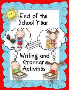 The end of the school year is a busy time for teachers and an exciting time for students. And, vice versa! The activities in this pack are designed...
