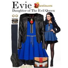 A fashion look from August 2015 featuring Unique Vintage dresses, Chicwish dresses and Miu Miu blouses. Browse and shop related looks. Disney Dresses, Disney Outfits, The Descendants, Evie Costume Descendants, Stars Disney, Disneybound Outfits, Estilo Disney, Disney Inspired Fashion, Disney Fashion