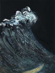 Maggi Hambling - New Sea Sculpture Paintings and Etchings