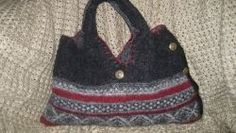 You don't have to be a knitter to make yourself an adorable handbag from felted wool. Get that boutique look by recycling your old sweaters into one one-of-a-kind totes or purses.