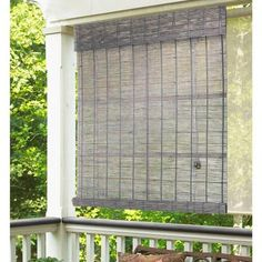 radiance gray wash norwood bamboo rollup blind 72 in w x 72 in l bamboo