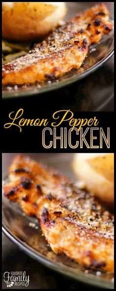 Healthy Recipes : Lemon Pepper Chicken is a frequent favorite dish in our family, it is so easy an... #Recipes
