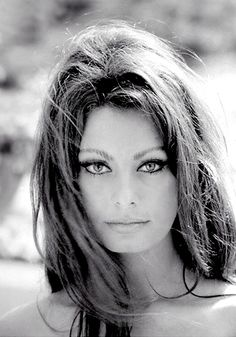 Actress Sophia Loren Born Sofia Villani Scicolone 20 Sept 1934, Naples, Italy
