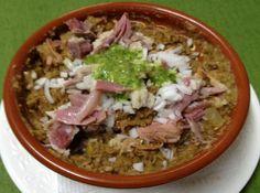 Escaldón, plato típico Canario