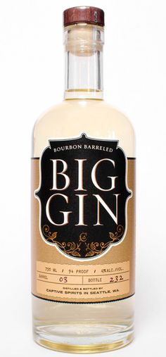 Drink of the Week: Bourbon-Barreled Big Gin - Imbibe Magazine