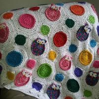 Crochet Owl Blanket Patterns | ... great project, and was very happy with the out come of the pattern