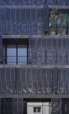 Apartment and Commercial Building Schützenmattstrasse, Basel_Herzog & de Meuron