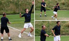 Andy Murray works on his fitness as he prepares to face Dustin Brown http://www.dailymail.co.uk/sport/tennis/article-4664462/Andy-Murray-works-fitness-Wimbledon.html?utm_content=buffer94a15&utm_medium=social&utm_source=pinterest.com&utm_campaign=buffer