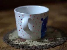 Mug with bears by Robert Romanowicz
