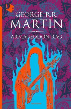 "The italian book cover for ""Armageddon Rag"" by George Martin (Mondadori publisher - Oscar Fantastica)."