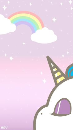 Check out this awesome collection of Kawaii Unicorn wallpapers, with 57 Kawaii Unicorn wallpaper pictures for your desktop, phone or tablet. Unicornios Wallpaper, Handy Wallpaper, Kawaii Wallpaper, Wallpaper Backgrounds, Real Unicorn, Cute Unicorn, Rainbow Unicorn, Unicorn Party, Unicorn Pics