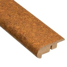 Color Cork Floors | Home Legend 78 Lisbon Spice Stair Nose Molding