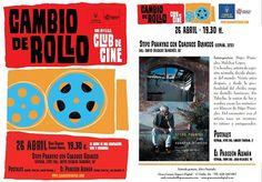 """#lpgc #laspalmas 26/04: Nueva sesión del Club de #Cine @CambiodeRollo toca cine hecho en #canarias Cine - 26/04: Sesión de cine canario en el Club de Cine """"Cambio de rollo""""."""