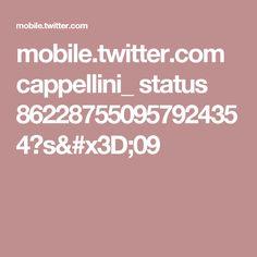 mobile.twitter.com cappellini_ status 862287550957924354?s=09