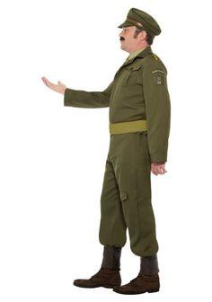WW2 Home Guard Captain Costume