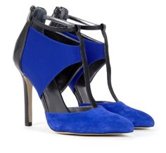 blue pumps @The Mall at Lawson Heights