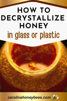 Decrystallize Honey, How To Start Beekeeping, Honey Container, Plastic Pail, Bee Images, Buy Honey, Bee Do, Backyard Beekeeping