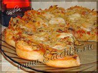 Пицца-пирог за 20 минут - фото