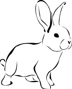 Free Printable Rabbit Coloring Pages For Kids Rabbit Drawing, Rabbit Art, Bunny Rabbit, Nose Drawing, Bunny Tattoos, Rabbit Tattoos, White Rabbit Tattoo, Animal Coloring Pages, Colouring Pages