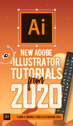 Illustrator Tutorials: 33 New Adobe Illustrator Tuts Learn Drawing and Illustration Graphic Design Lessons, Graphic Design Tools, Web Design, Graphic Design Tutorials, Graphic Design Inspiration, Vector Design, Design Elements, Design Trends, Logo Design