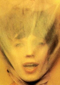 Mick Jagger, 1973 - Goats Head Soup album cover image - by David Bailey