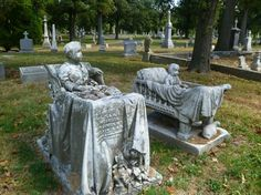Calvary Cemetery, St Louis, MO by angela