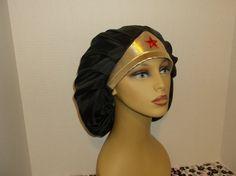 Wonder Woman/Bouffant/Ponytail/Surgical/Chemo/Chef Scrub/ Hat | orfashioncaps.com