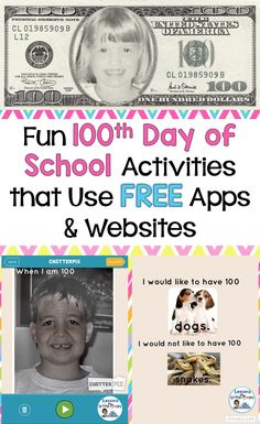 100th Day of School Ideas & Treats - Lessons for Little Ones by Tina O'Block