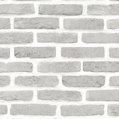 Grey Brick Effect Wallpaper   Departments   DIY at B&Q