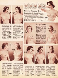 The history of bras