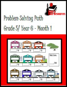 Real Life Problem Solving for Fifth Grade   Problem solving should be based on real life. This Fifth Grade Problem Solving Math Journal gives students ten word problems that could be a part of their real life community. Each word problem is situated on an easy to use graphic organizer with an included grading rubric. Download this journal for free from my Teachers Pay Teachers store.  3 - 5 5th grade 5th grade math fifth grade math journal math problem solving problem solving Raki's Rad Reso...