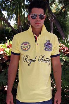 ROYAL SAILING Yellow