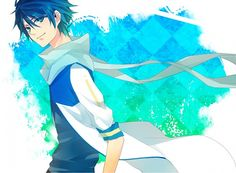 Vocaloid - Kaito Vocaloid Kaito, Kaito Shion, Everything Is Blue, Shugo Chara, Fandom, All Anime, Anime Boys, Cartoon Art, Chibi