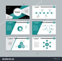 Vector business presentation template setpowerpoint template abstract vector business presentation template slides background design fo graphic toneelgroepblik Images