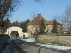 Manor hause in Kluky (distr.Kutná Hora, central Bohemia), private now