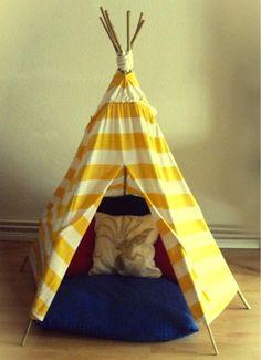 DIY Teepee for Tots on Kollabora