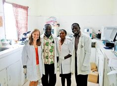 """Listen with your heart.""  Meet Lauren, a great UBELONGer from Boston University, who served at the #nutrition project in #Ghana for 2 months. Her interview! #VolunteerAbroad #Review"
