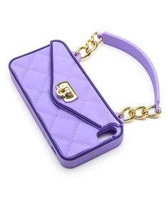 Take a look at this Purple Purse Case for iPhone 5/5S/5C by Pursecase on #zulily today! $20 !!