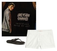 """""""Just got my Greyson Chance shirt!!!! (Will most likely live in this outfit this summer"""" by livimay ❤ liked on Polyvore featuring Under Armour and J.Crew"""