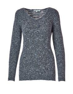 Boucle SweaterBoucle Sweater, Petrol Blue