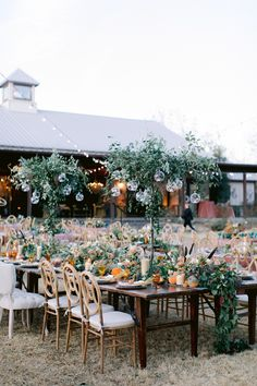Colorful fall wedding / outdoor wedding reception with greenery Forest Wedding Reception, Rooftop Wedding, Luxe Wedding, Ballroom Wedding, Wedding Reception Decorations, Rustic Wedding, Wedding Ideas, Thistle Wedding, Austin Wedding Venues