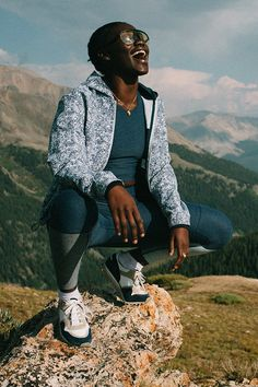 The Hiker Collection: Activewear for moving your body and having fun.