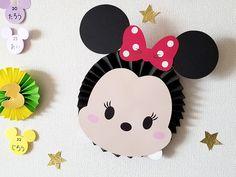 ペーパーファンのディズニーツムツムお誕生表を制作しました〜プリプリ2019年4月号特別付録 | Happy Birthday Project Bolo Mickey E Minnie, Fiesta Mickey Mouse, Mickey Party, Mickey Mouse Birthday, Minnie Mouse Party, Baby Birthday, Cute Crafts, Crafts For Kids, Diy And Crafts