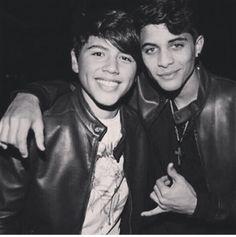 the loves of my life ❤️ Jaime Cruz and Erick Brian colon